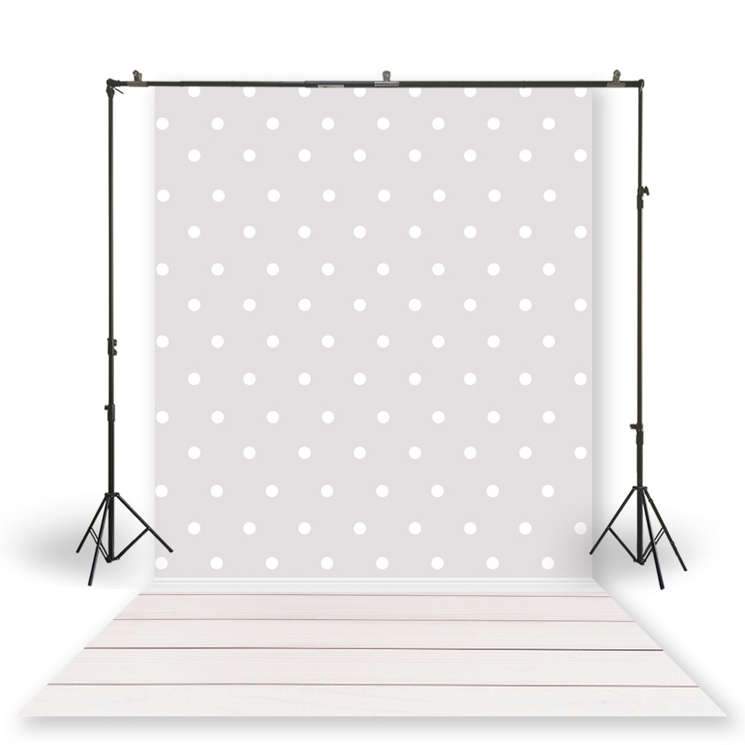 HUAYI Photography Backdrop Newborns Baby Birthday Studio Photo Background Polka Dots Pattern Photoshoot Backdrops XT-7084 image