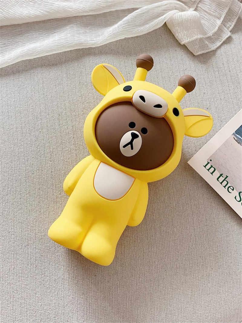 1 Pcs Zachte Siliconen Creatieve Retro Luxe Cartoon Potlood Gevallen Pen Bag Pouch Voor Briefpapier Levert Cosmetische Tas Penciles Pouch