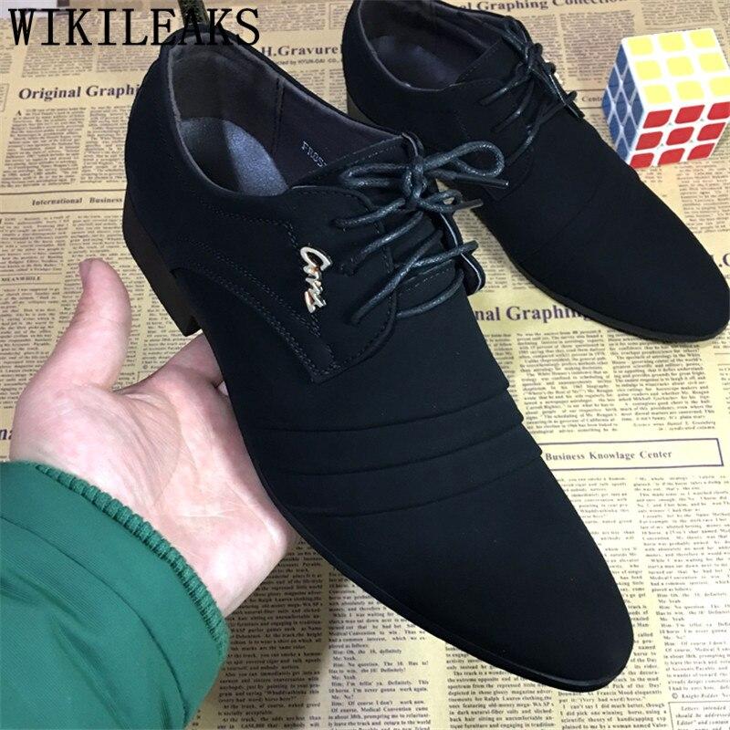 Mens Dress Shoes Wedding Oxford Shoes For Men Shoes Formal Zapatos Hombre Mocassim Masculino Zapatillas Hombre Casual Man Shoes
