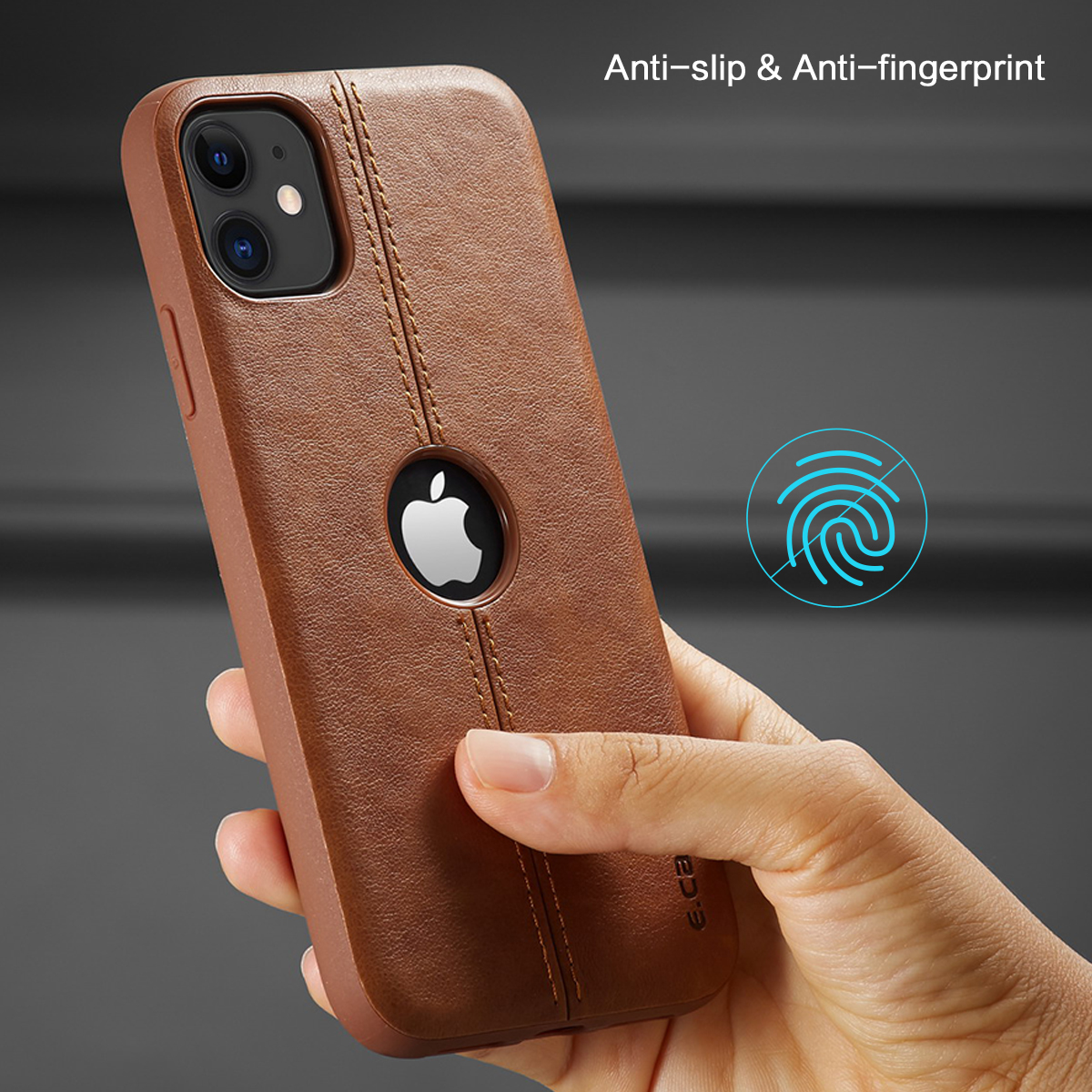 H10033883dd10454ea4a67372b35aa73az For iPhone 11 11 Pro 11 Pro Max Case New SLIM Luxury Leather Back Case Cover For iPhone 11 XR XS MAX 8 7 6 Plus Shockproof Case