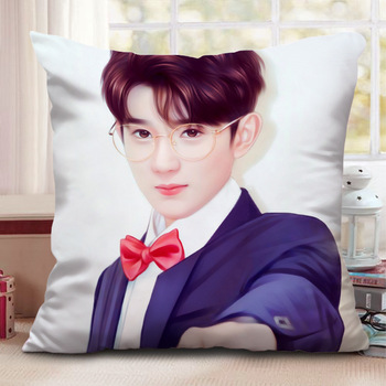 Pillow Related to Stars Wang Yuan, Member of Tfboys Jackson Yee Office Cushion Home Pillow Roy image