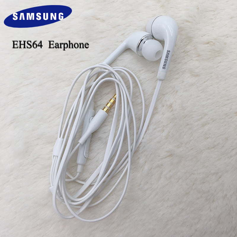 Samsung Earphones <font><b>EHS64</b></font> Headsets With Built-in Microphone 3.5mm In-Ear Wired Earphone For A70 A50 S10 S9 plus A10 A40 J5 NOTE 4 image