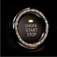 Car Engine Start Stop Ignition Key Ring for mercedes cla opel zafira b renault trafic golf mk4 audi a4 b5 megane 3 tucson 2017