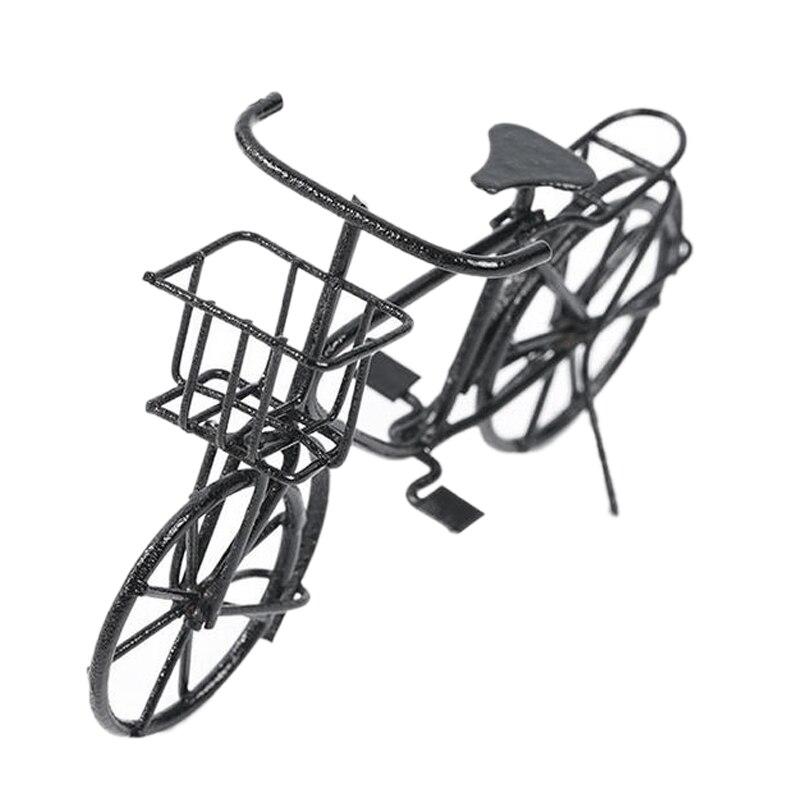 Casa de Muñecas Verde Adulto Bicicleta Bici Miniatura 1:12 Escala Accesorio de jardín