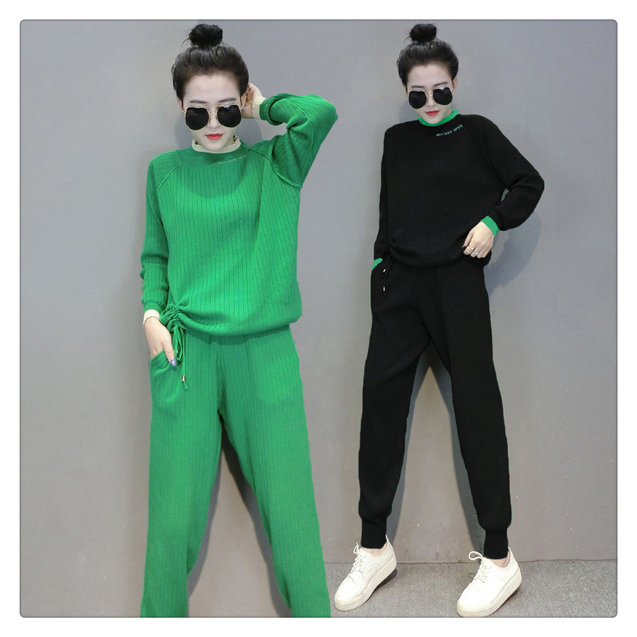 Fall Clothes For Women Red Two Piece Tights Set Bodycon Tracksuit Outfits Long Sleeve Zip Top Pants Suits Casual matching sets