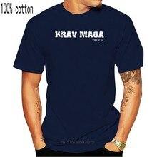 Мужская хлопковая футболка Krav Maga, закрытая футболка на английском/иврите, 100% хлопок, Летние повседневные хлопковые топы в стиле хип-хоп