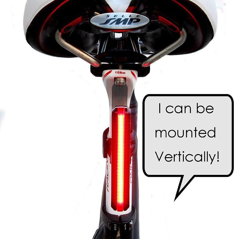 Biciklete e riciklueshme e dritës për biçikleta USB Cikli i - Çiklizmit - Foto 2