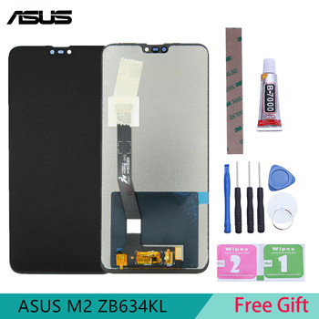 6.26 inch S-IPS Original Display for ASUS Zenfone Max Plus M2 ZB634KL LCD Touch Screen Digitizer Replacement Module Front Panel цена 2017