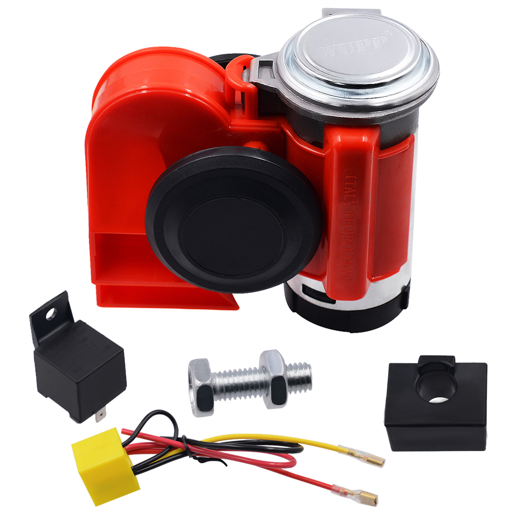 Image 3 - 12V Car And Motorcycle Modified Super Snail Integrated Air Horn For Car Motorcycle Truck Mounting Accessories