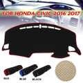Auto Dashboard Abdeckung Dashmat Sonnenschirm Abdeckung Pad Anti-slip Dash Board Teppich Für Honda/Civic 2016 2017