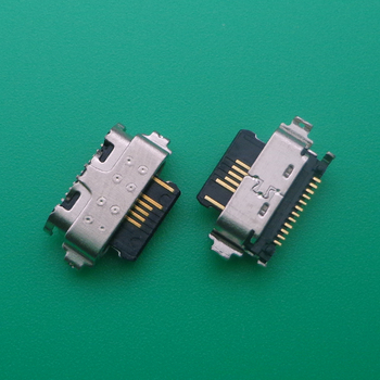 2pcs For Alcatel 3X 2019 5048 5048A 5048U 5048Y Type C Micro USB Jack Charging Socket Port Plug Dock Connector image