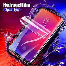 For Vivo X30 Pro X27 Pro X23 X21 X20 X9 Hydrogel Film Clear Soft TPU Screen Protector For Vivo X9 X20 X21 Protective Guard Film protective arm clear screen film guard protector for sony xperia z2 transparent 6 pcs