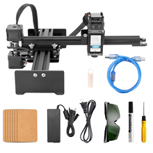 Desktop Single Arm Engraver Portable DIY Engraving Carving Machine Mini Carver Laser Engraving Machine Automatic Cutting Plotter