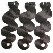 30 Inches Body Wave Human Hair Bundles for Black Women 3/4 Pcs / Lot Non Remy Hair Human Hair Waving Double Machine Weft