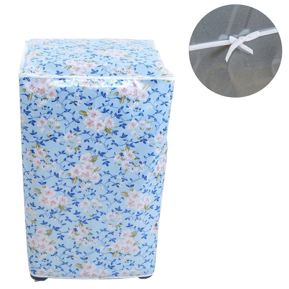 Waterproof Washing Machine Cover Dustproof Zipper Cover Anti-dust Washing Machine Protector Home Supplies