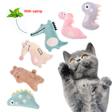 Funny Cat Toy with Catnip Interactive Toys For Cat Plush Teeth Chew Kitten Pillow Bite Playing Soft toys for Indoor Cute Pet Toy