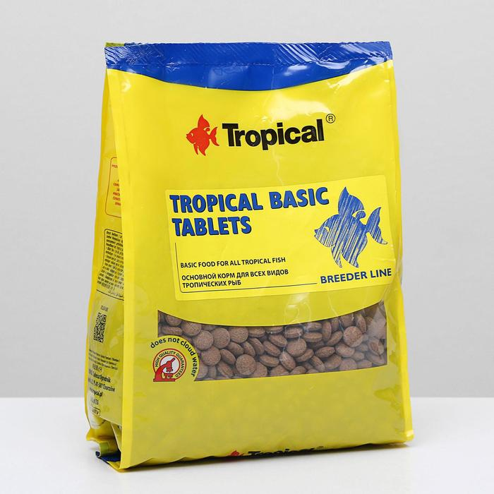 Корм для рыб tropical Basic Tablets в виде тонущих таблеток, 1 кг 5464556 Корм для рыб    АлиЭкспресс
