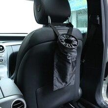 Huihom Universal asiento trasero del coche basura cubo de basura organizador asiento trasero niños Kick Protector cubierta accesorios de automóvil