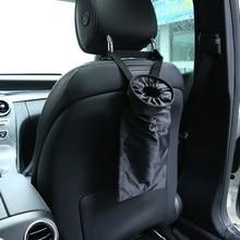 Huihom Universele Auto Achterbank Prullenbak Vuilnisbak Afval Bin Organizer Seat Back Kids Kick Protector Cover Auto Accessoires
