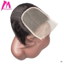 Transparent Lace Frontal 4x4 Closure Straight Natural Brazilian Human Hair Hd Lace Preplucked Short Long Remy for Black Women