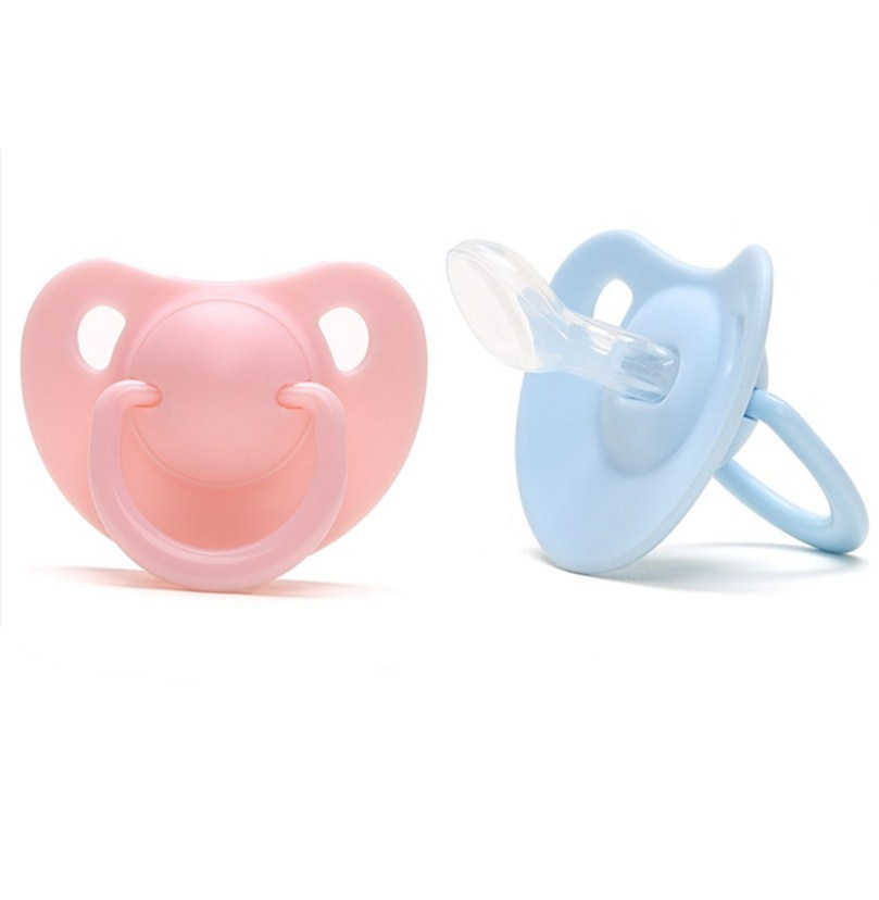 Newborn Kids Orthodontic Dummy Pacifier Infant Silicone Teat Nipple Soother6ON