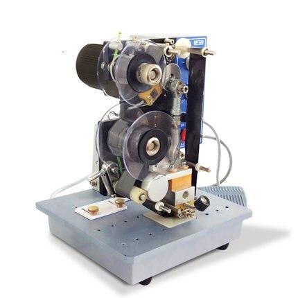 Drukarka elektryczna wstążka drukarka kodów kreskowych półautomatyczne plastikowe torby drukowanie i kodowanie maszyna do tłoczenia na gorąco HP-241B