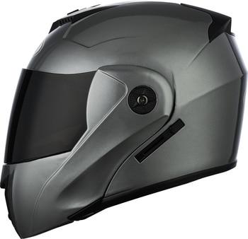 2 Gifts Unisex Racing Motorcycle Helmets Modular Dual Lens Motocross Helmet Full Face Safe Helmet Flip Up Cascos Para Moto kask 28
