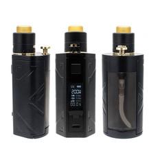 Оригинальный Smoant Battlestar Squonker 200 Вт с 7 мл Squonker 24 мм RDA и сменный набор электронных сигарет для бутылки жидкости
