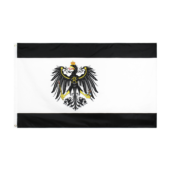 3x5 fts niemcy pruski niemiecki sztandar flaga prus
