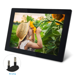 10.1 Inch Wide Angle Digital Picture Frame Photos Music WIFI Remote Auto Rotate Vedio Easy Apply Travel High Definition Sending