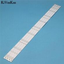 LED Backlight Strips For AOC LE40D1452 LE40D1442/20 LD40E01M T4002M Bars GJ-2K15-D2P5-395 Bands Rulers GJ-DLEDII P5-400-D409-V7