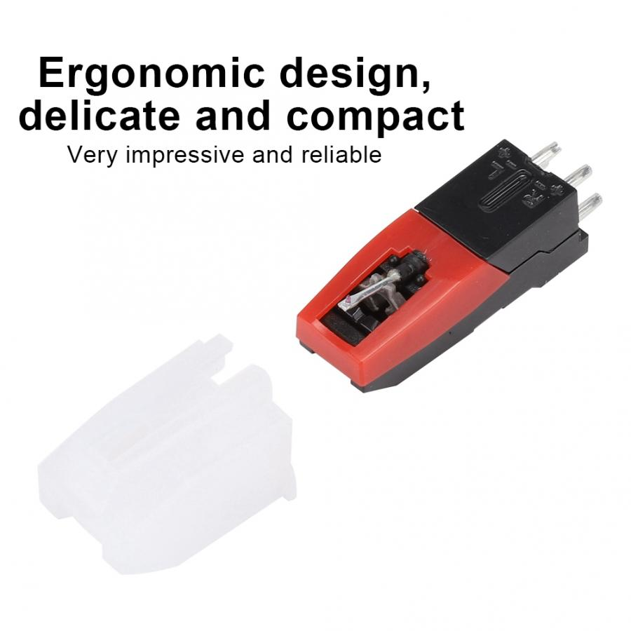 giradischi Dual Needle Stereo Stylus for LP Vinyl Player USB Turntable Accessory pikap player