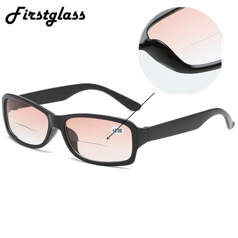2019 New Black Progressive Multifocal Reading Glasses Men Women Bifocal Magnifying Presbyopic Glasses 1.0 2.0 2.5 3.0