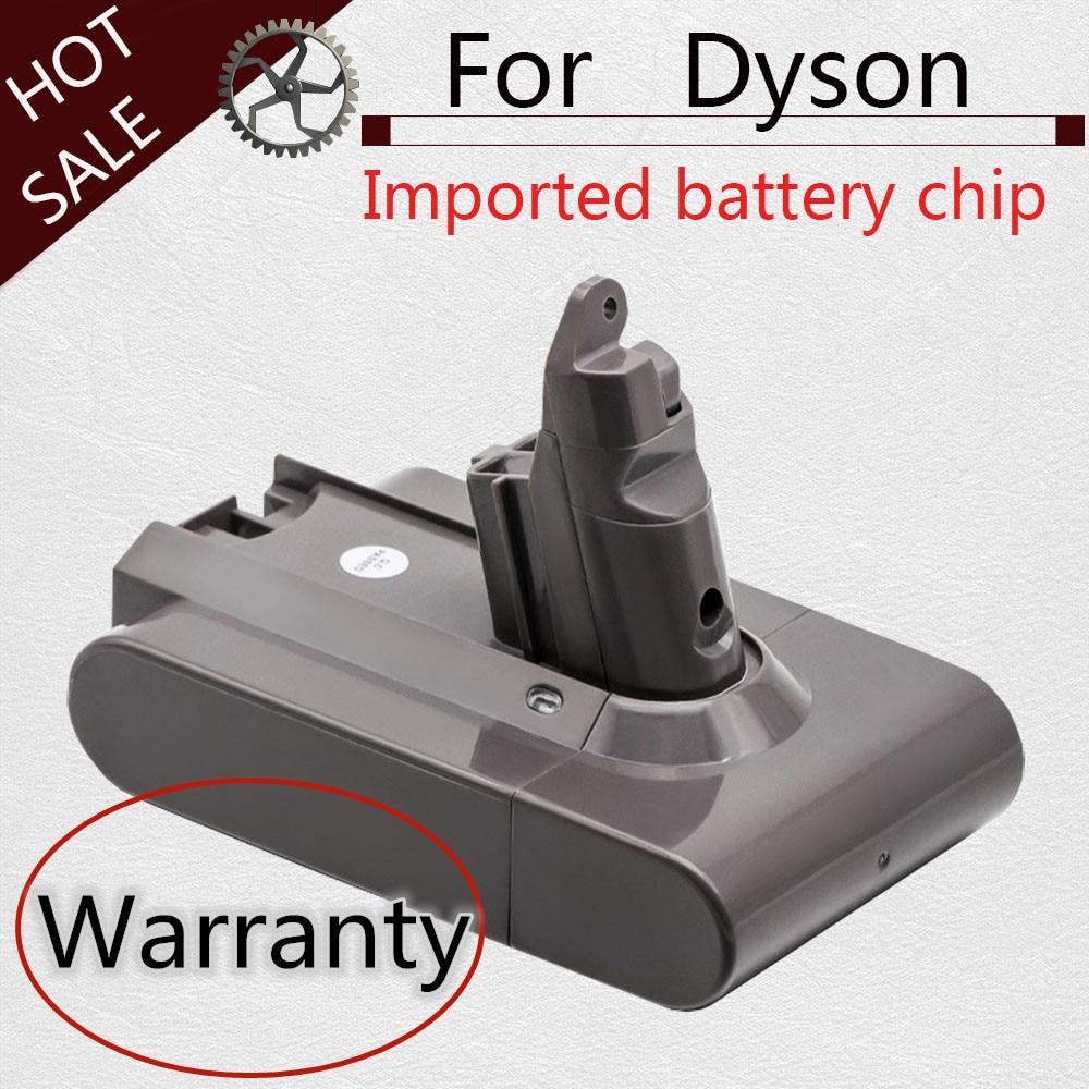 3000mAh/3500mAH 21.6V  Li-ion Battery For Dyson V6 DC58 DC59 DC61 DC62 DC74 SV09 SV07 SV03 965874-02 Vacuum Cleaner Battery