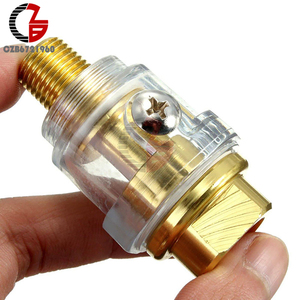 1/4 Inch NPT In-Line Oiler Lubricator for Pneumatic Tool and Air Tool Compressor Pipe Hose Oiler Automatic Oiling with Filter