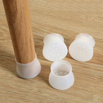 Silicon Furniture Leg Protection Cover Table Feet Pad Floor Protector For Home MYDING