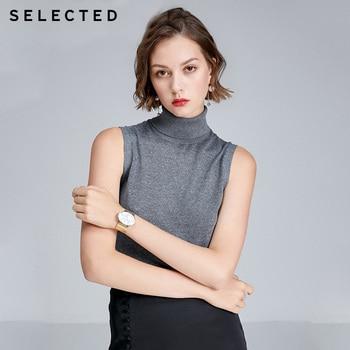 Winter Silk Linen Blended Turtleneck Women Sweater |419324506 1