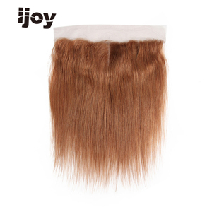 """Image 3 - Human Hair With 4x13 Lace Frontal #1B/4/27/30/33/99J/Burgundy 8"""" 20"""" M Non Remy Straight Closure Brazilian Hair Extension IJOY"""