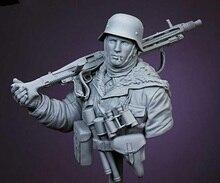 1/10 古代戦士冬バスト帽子樹脂フィギュアモデルキットミニチュア gk 未組み立て未塗装