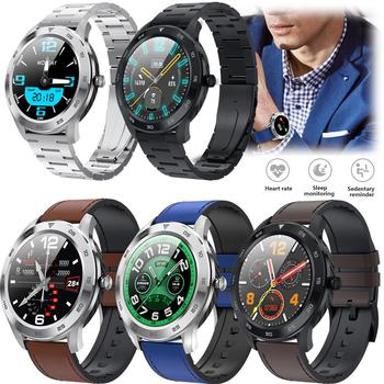 Round Touch Screen Smart Watch Bluetooth Wristwatch Heart Rate Monitoring Phone Mate Messages Calls Reminder for Cell Phone