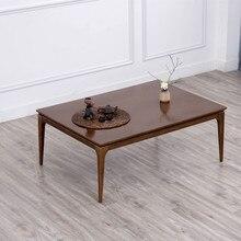 Новинка! стол Kotatsu в скандинавском стиле из массива дуба, японская мебель для гостиной, повседневный стол с подогревом