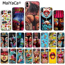 MaiYaCa Sexy oil painting bikini girls ass phone Case for