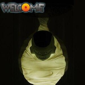 Image 3 - Tronzo דרומא עיצוב דרקון כדור סופר Freeza בגיהינום PVC פעולה איור מצחיק קישוט Freeza מנורת אור דגם צעצועי מתנות
