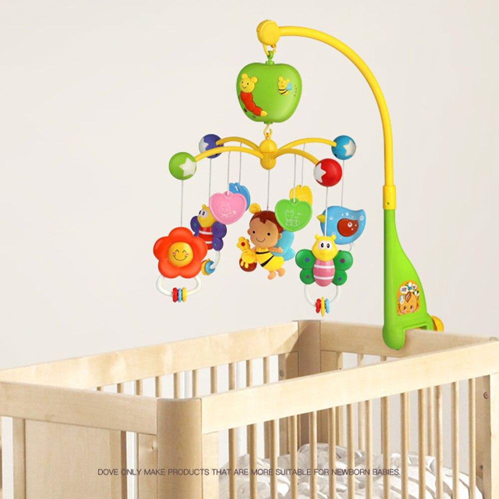 Baby Musical Crib Mobile,Montessori Mobile Baby Crib With Rotate Musical Box