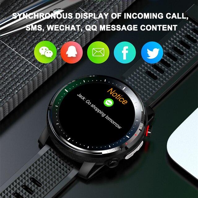 2021 LIGE IP68 Waterproof Smart Watch Men ECG Heart Rate Blood Pressure Monitor LED Flashlight Sports Fitness Tracker smartwatch 3