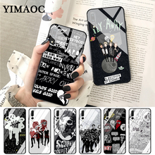 купить YIMAOC 5 Seconds of Summer Glass Case for Huawei P10 lite P20 Pro P30 P Smart honor 7A 8X 9 10 Y6 Mate 20 по цене 288.53 рублей