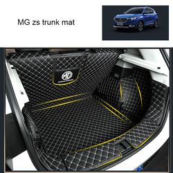 Lsrtw2017 skóry samochodu mata do bagażnika Cargo Liner dla MG ZS 2018 2019 2020 nie myli dywan wnętrze akcesoria pokrowce na