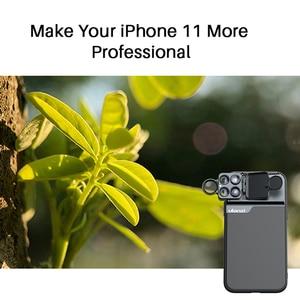 Image 4 - Ulanzi טלפון מקרה 3 ב 1/5 ב 1 טלפון עדשת CPL מסנן/10X/20X מאקרו/Fisheye/2X טלה עדשה עבור iPhone 11/11 Pro/11 Pro מקסימום