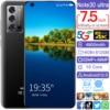 Global Version Smart Phone Note30 Ultra 7.5 Inch HD screen MTK 6889 Deca Core unlocked Latest 5G Net Work 16Gb Ram 512Gb Rom