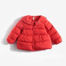Infantile Delle Ragazze del Cappotto 2020 Primavera Giacca Invernale Per Il Bambino Delle Ragazze Dei Bambini Caldi Di Natale Tuta Sportiva Per Il Bambino Giacca Vestiti Appena Nati 0 2Y
